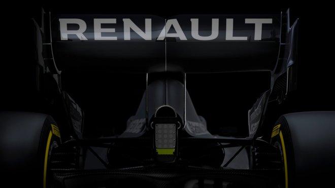 Zadní část nového Renaultu RS20
