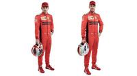 Piloti Ferrari v barvách pro sezónu 2020