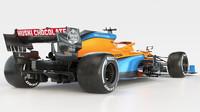 McLaren se snaží u MCL35 vyřešit slabinu středu pole. Key o svém díle, užší karosérii a lehčím lakování - anotační obrázek