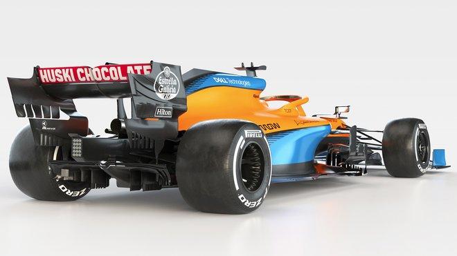 Nový McLaren MCL35