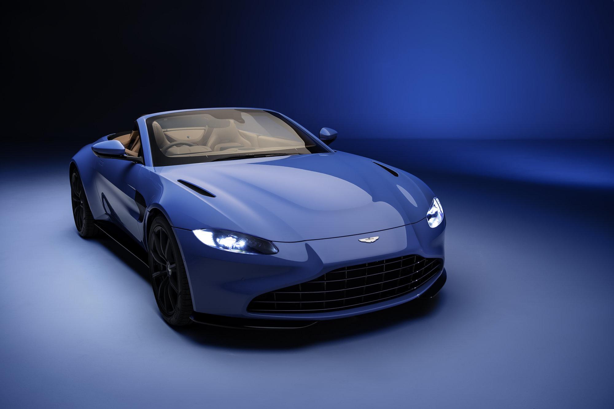 Aston Martin Vantage Roadster, James Bond by měl radost - anotační obrázek