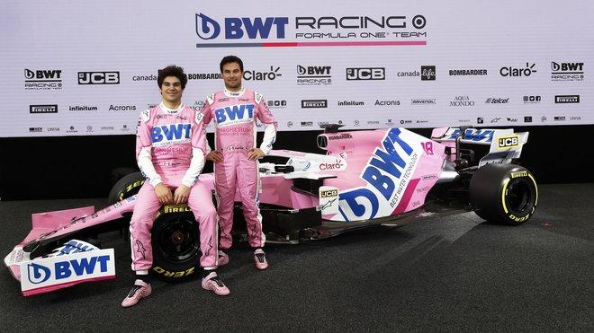 Prezentace nového Racing Pointu