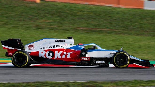 Nový Williams při prvotním testu v Barceloně