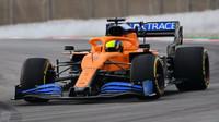 První jízdy s novým McLarenem MCL35
