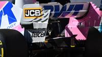 Lance Stroll při předsezonních testech s vozem Racing Point RP20 v Barceloně
