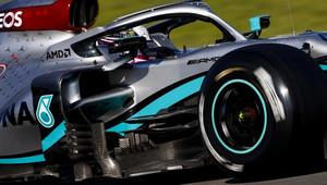 FOTO: Druhý den testů v Barceloně - úřaduje Kimi, Mercedes pod drobnohledem - anotační obrázek