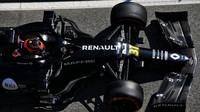 Esteban Ocon v rámci třetího dne předsezonních testů v Barceloně