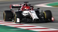 Ve středu byl v Barceloně nejrychlejší Kubica s Alfou Romeo, Ferrari bude v Melbourne ztrácet - anotační foto