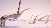 BMW Concept i4 přinese čistě elektrický pohon do značky BMW