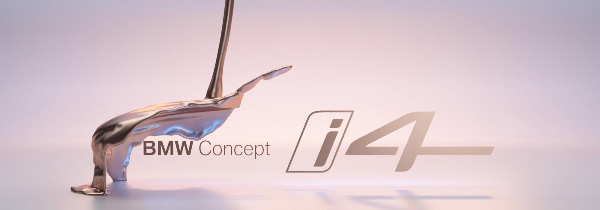 BMW UKÁZALO základní podobu svého prvního čistě elektrického Gran Coupé Concept i4 - anotační obrázek