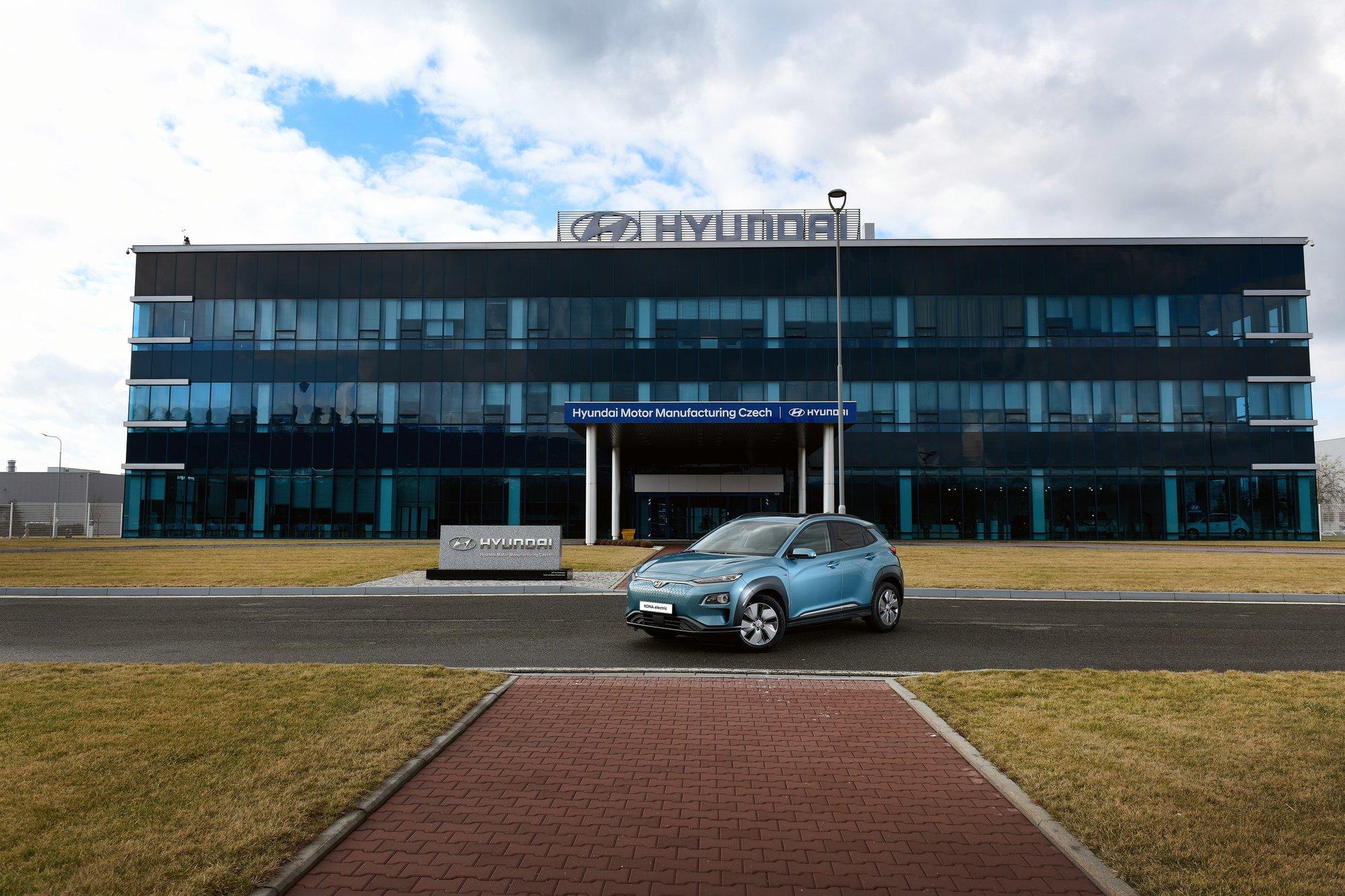 Hyundai dokončuje přípravy na zahájení výroby Kony Electric v České republice - anotační obrázek