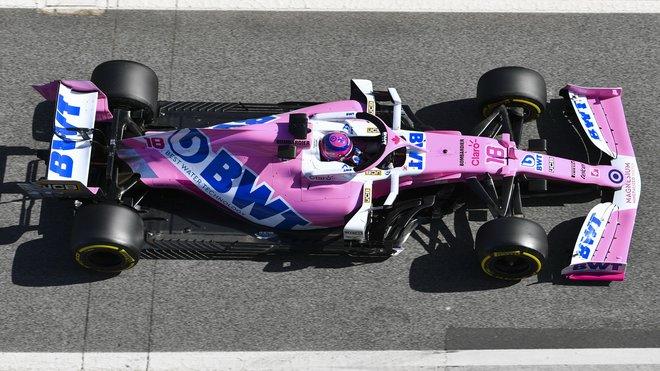Racing Point RP20 zaujal již během testů v Barceloně, nyní svou formu potvrzuje