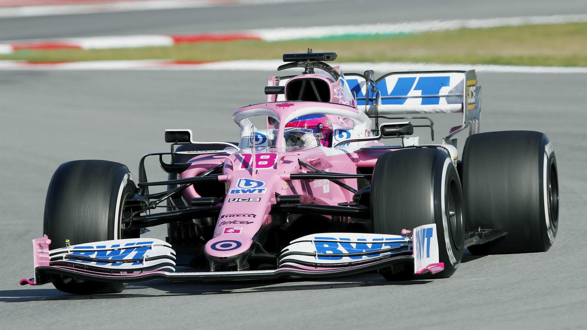 """""""Růžový Mercedes,"""" jak se přezdívá letošním vozu Racing Pointu"""