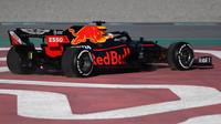 Max Verstappen v rámci třetího dne druhých předsezonních testů v Barceloně