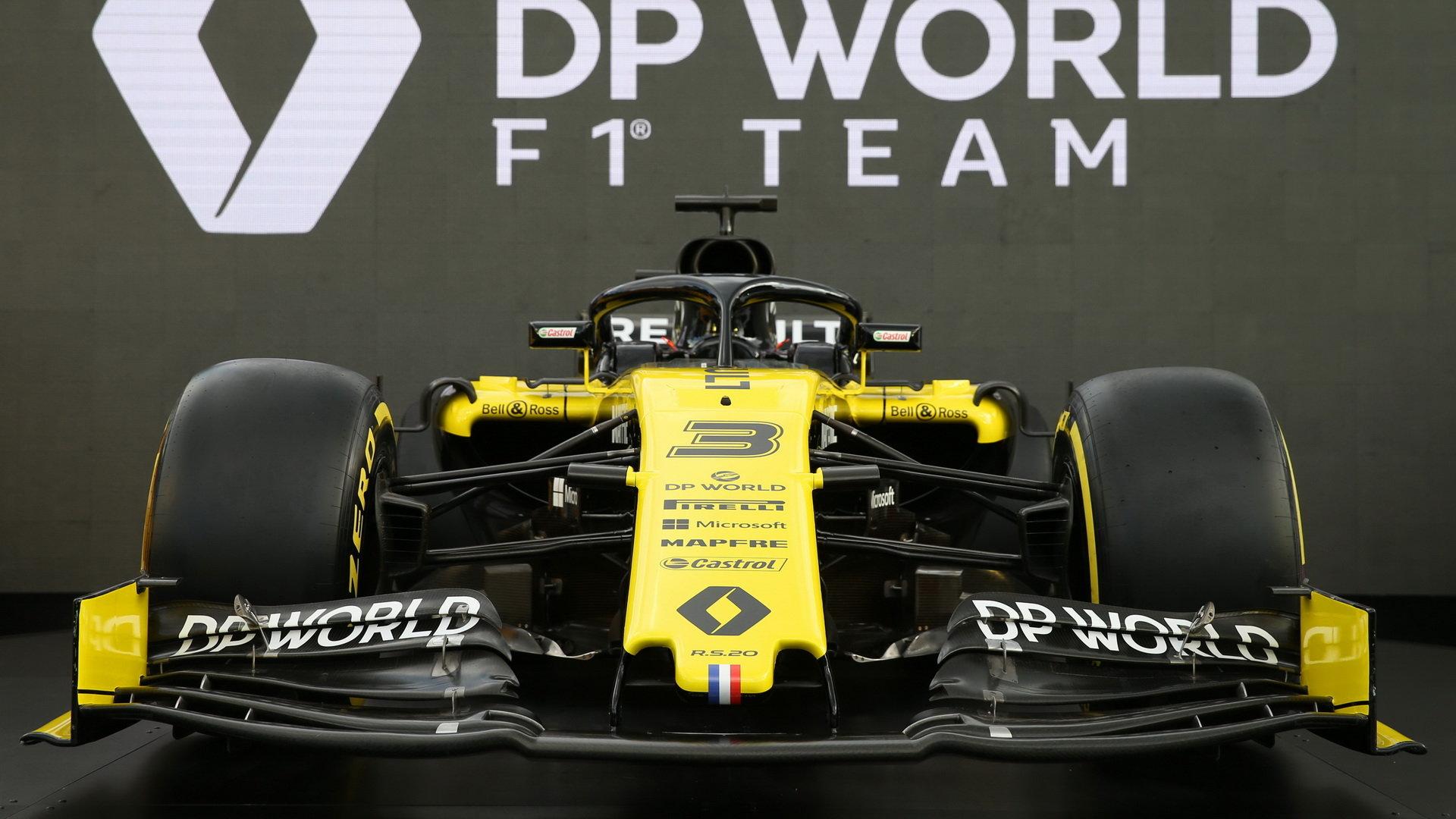 Nové zbarvení vozu Renault RS20 pro závodní sezónu 2020