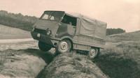 """Lehký terénní automobil Škoda 998 """"Agromobil"""" vznikl v roce 1962 ve třech prototypech, splnil očekávání, ale výroby se nedočkal"""