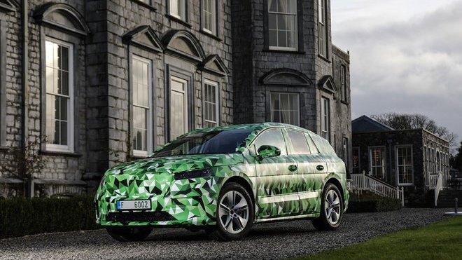 Škoda Enyaq iV bude dodávána se třemi různými kapacitami baterie, pěti výkonovými stupni a nabídne i rychlonabíjení
