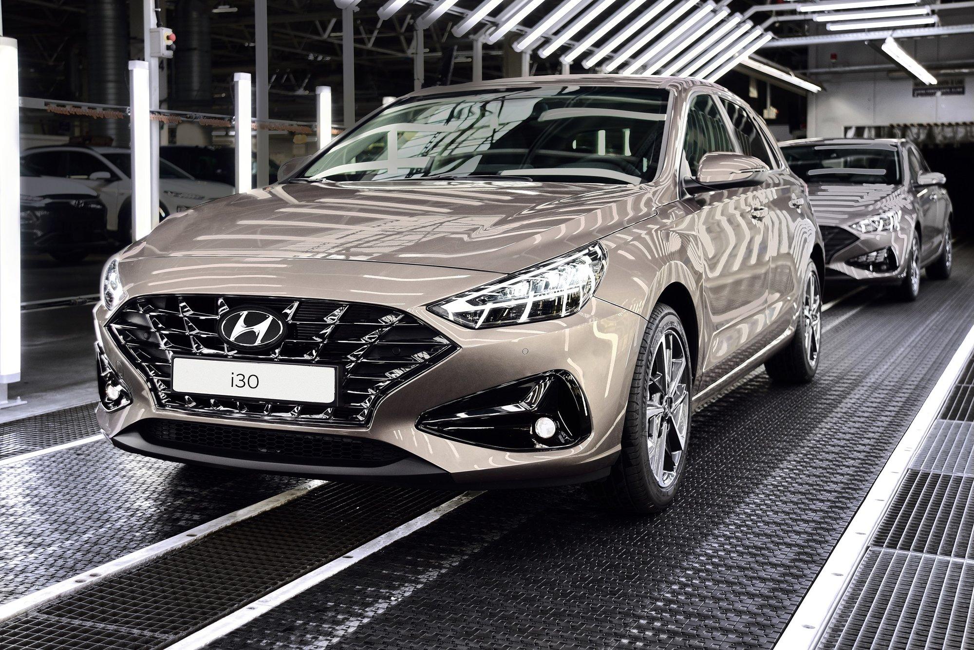 Nový Hyundai i30 zahajuje výrobu