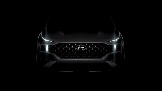 Hyundai ukázal první fotografii nového SUV Santa Fe