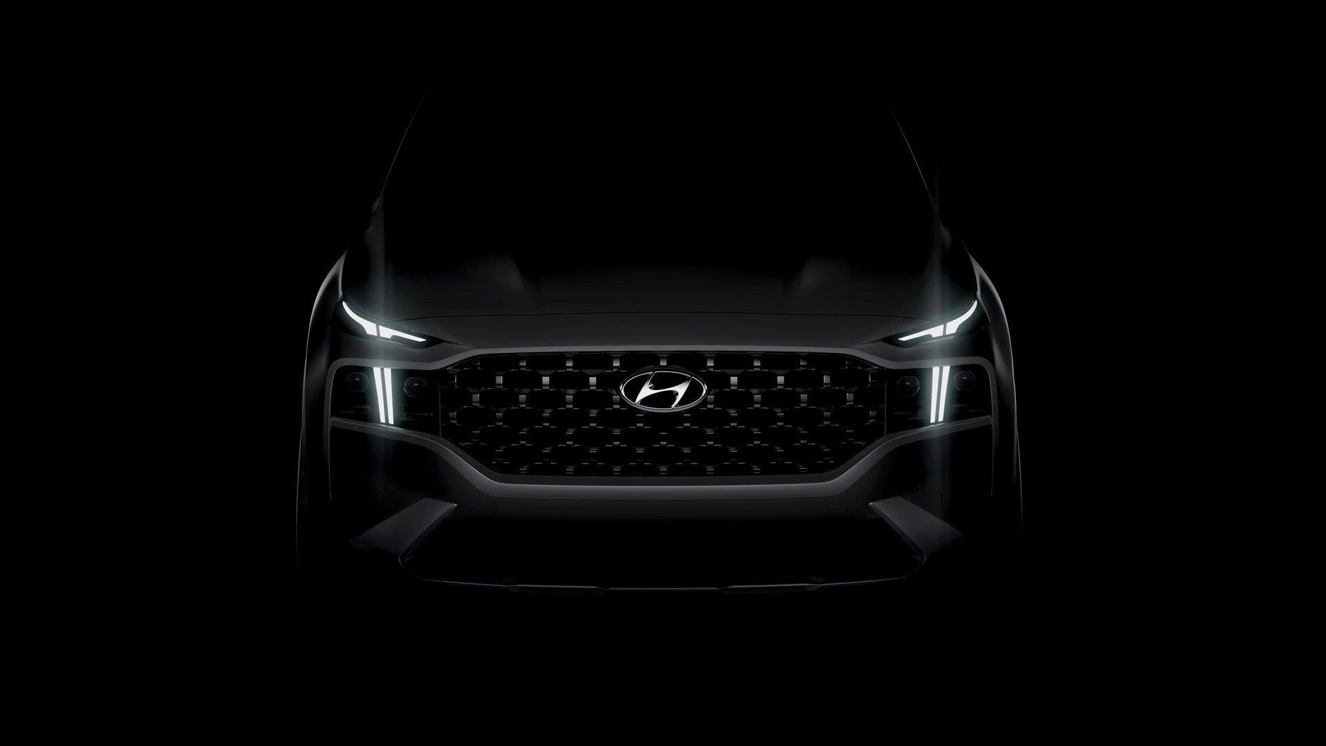 Nový Hyundai Santa Fe na prvním snímku - anotační obrázek