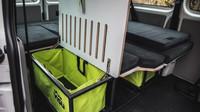 Volkswagen Transporter se zajímavou vestavbou VISU pro výlet či dovolenou