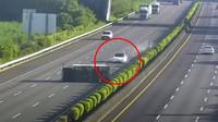 Nehoda vozu tesla model 3