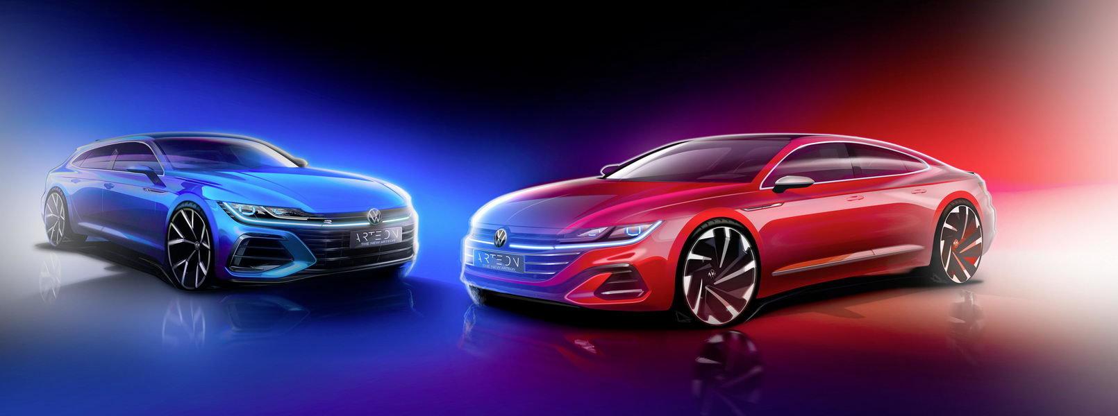 Nový Volkswagen Arteon a Arteon Shooting Brake 2020 je tady! - anotační obrázek