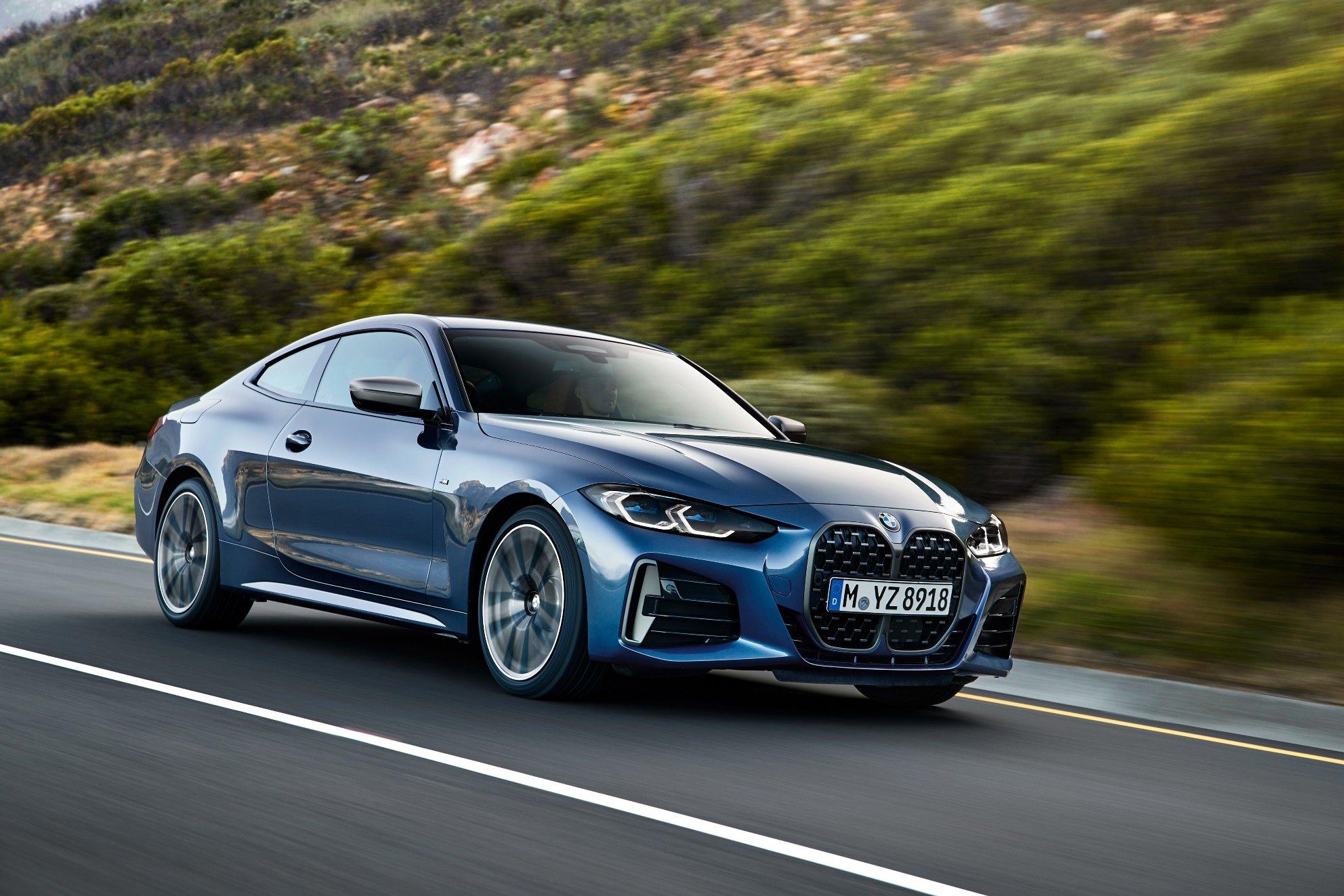 Nové BMW 4 Coupé. Ledvinky kam oko dohlédne a slib vybroušených sportovních genů - anotační obrázek