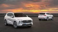 Modernizovaný Hyundai Santa Fe. Nové hybridní motory a řada prémiových vylepšení - anotační foto