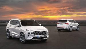 Modernizovaný Hyundai Santa Fe. Nové hybridní motory a řada prémiových vylepšení - anotační obrázek