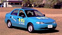 Koncept elektromobilu Hyundai Accent EV nabízel dojezd 390 kilometrů a nejvyšší rychlost 140 km/h