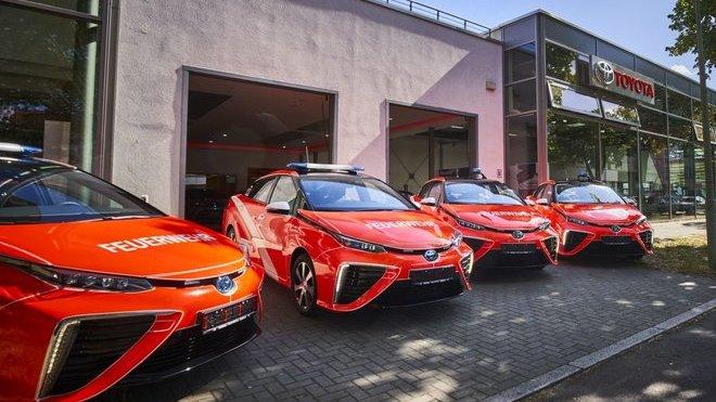 Toyota Mirai ve službách berlínských hasičů