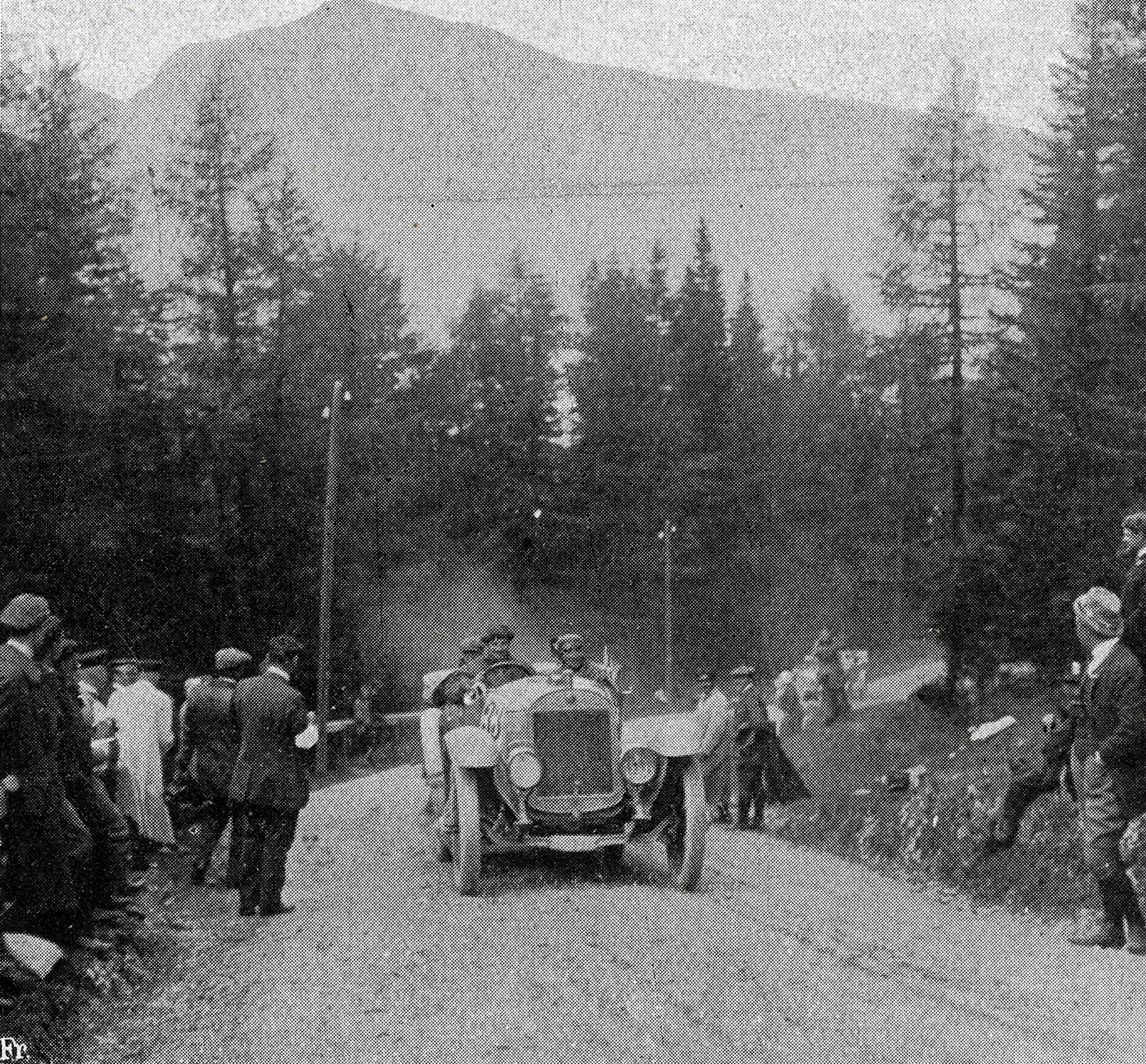 Otto Hieronimus a jeho Laurin & Klement zdolali 2364 km Alpské jízdy 1912 bez trestných bodů