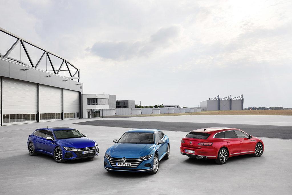 Zákazníci již mohou objednávat nové modely Volkswagen Arteon a Arteon Shooting Brake - anotační obrázek