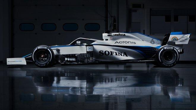 Williams FW43 - Mercedes s novým barevných designem pro sezónu 2020