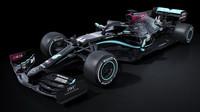 Mercedes bojuje proti rasismu černým zbarvením