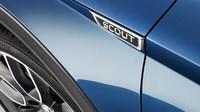 Škoda Octavia Scout a detail profilace karoserie