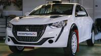 Nový Peugeot 208 Rally 4, závodní speciál s tříválcem - anotační foto