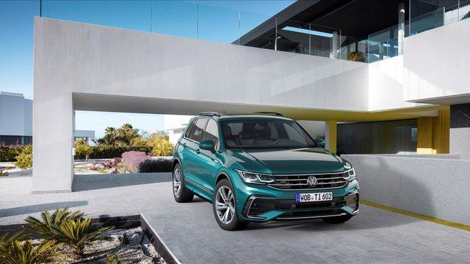 VW Tiguan prošel faceliftem. Do vínku dostal více elektřiny, výkonu, zábavy a osobitosti