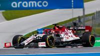 Kimi Räikkönen v závodě velké ceny Štýrska
