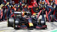 Max Verstappen v závodě velké ceny Štýrska