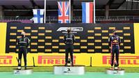 Pódiové pozice po závodě velké ceny Štýrska