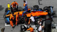 Carlos Sainz před závodem velké ceny Štýrska