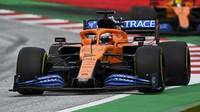 Carlos Sainz v závodě velké ceny Štýrska