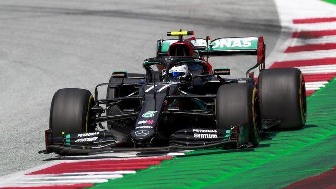Valtteri Bottas v závodě velké ceny Štýrska