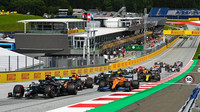 Start závodu velké ceny Štýrska