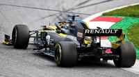 Daninel Ricciardo v závodě velké ceny Štýrska