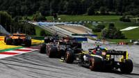 Esteban Ocon v závodě velké ceny Štýrska