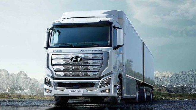 Hyundai XCIENT Fuel Cell, první těžká nákladní auta na vodík míří do Evropy