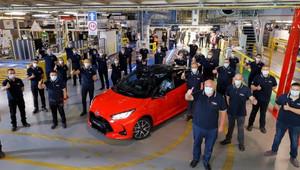 Výroba nové Toyoty Yaris zahájena - anotační obrázek